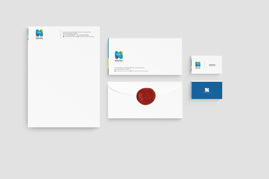 Nostra Services Stationery