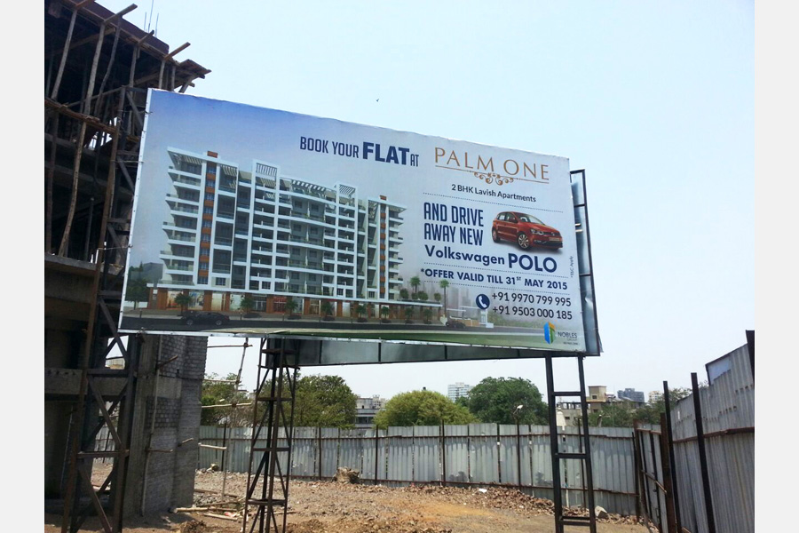 Palm One City Hoarding