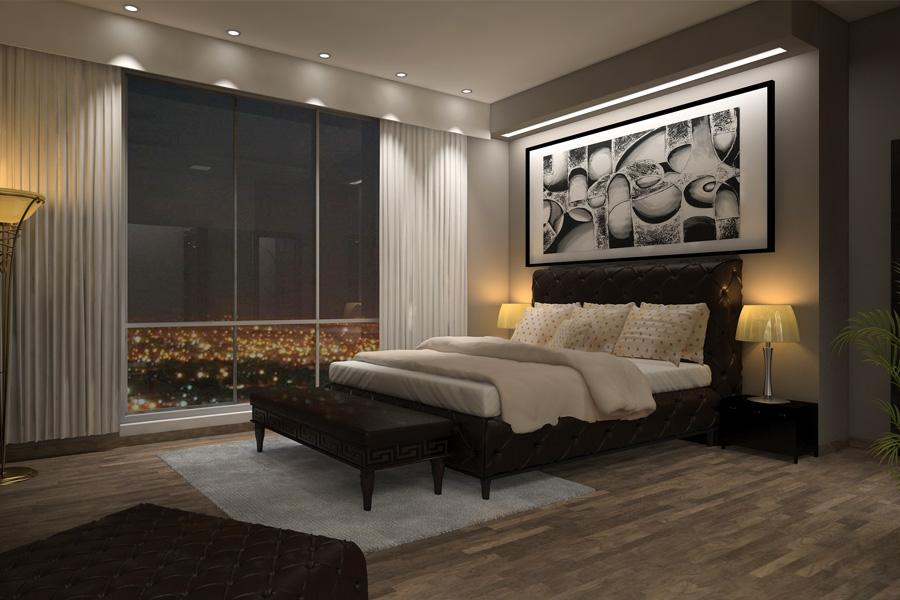 Verto Designss Graphic Designing Website Designing Logo - 3d view of bedroom design